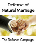 Defense of Natural Marriage